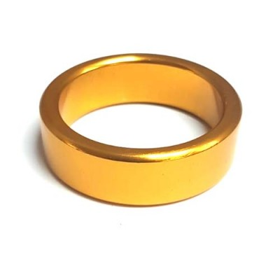 Jumbo Gold Wedding Band/Ring -  Flat 50mm