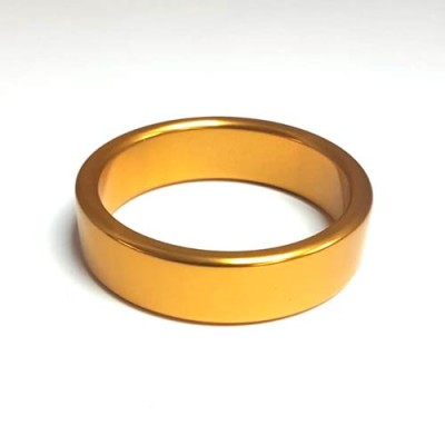 Jumbo Gold Wedding Band/Ring -  Flat 60mm