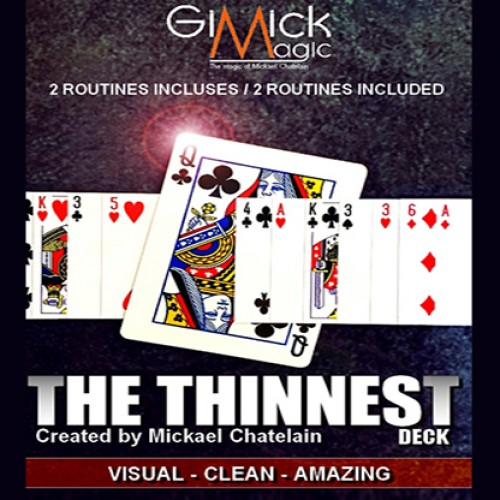 The Thinest Deck by Mickael Chatelain