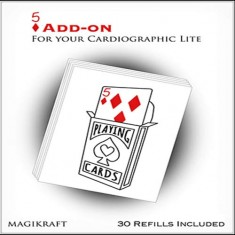 Cardiographic LITE - 5 of Diamonds Add-on Pack by Martin Lewis