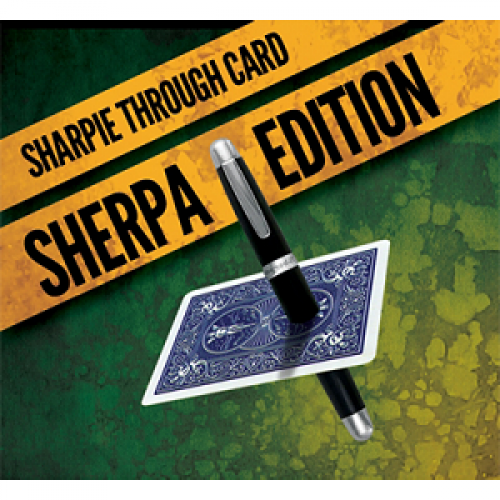 Sharpie Through Card - Sherpa Edition
