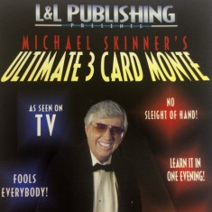 3 Card Monte by Michael Skinner - Blue Only