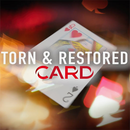 Torn and Restored Changing Card by Richard Young