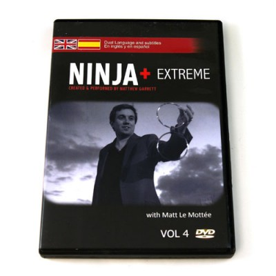 Ninja+ Volume 4 Extreme (Spanish & English) by Matthew Garrett