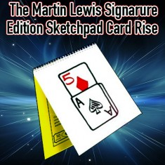 Signature Edition Sketch Pad Card Rise by Martin Lewis