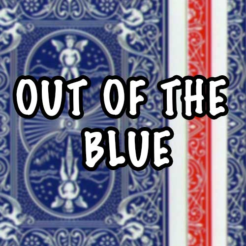 Out of the Blue - James Anthony