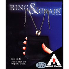 Ring & Chain (DVD included) by Astor Magic