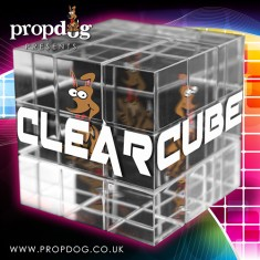 Clear Cube by PropDog