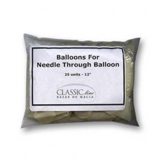 Needle Through Balloon Replacement (25 balloons) by Bazar de Magia