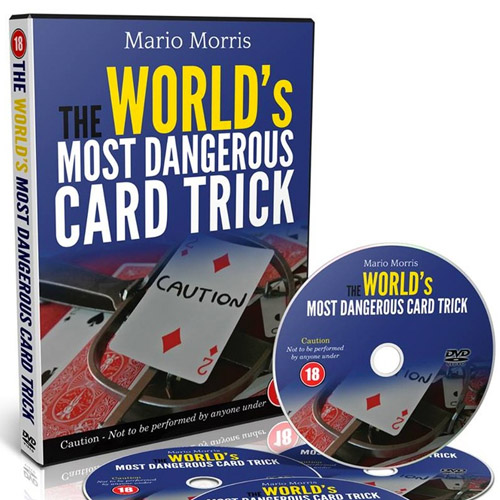 The World's Most dangerous Card Trick by Mario Morris