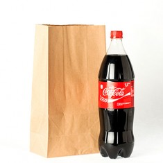 Kraft Paper Bag for Astonishing Bottle by Joao Miranda
