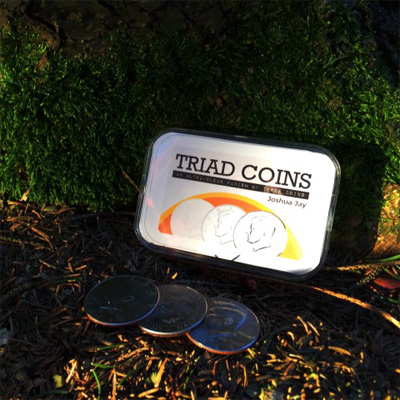 Triad Coins UK Coin Version  by Joshua Jay and Vanishing Inc