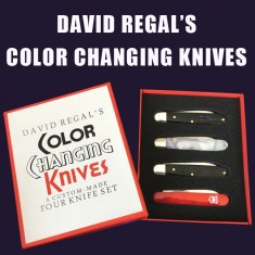 Colour Changing Knives by David Regal