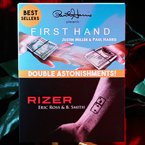 Paul Harris Presents Double Astonishments - First Hand/Rizer by Justin Miller/Eric Ross and B. Smith