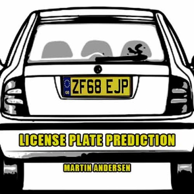 License Plate Prediction - Martin Andersen