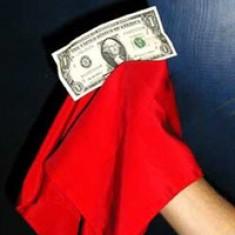 Classic Handkerchief Vanishing Bill by Bazar de Magia