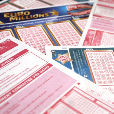 Tyvek Lottery Tickets European Style Euro Millions €20 size by PropDog - A4 sheet