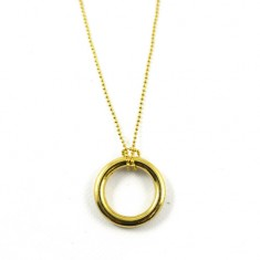 Ring on Chain - Gold