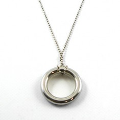 Ring on Chain - Silver