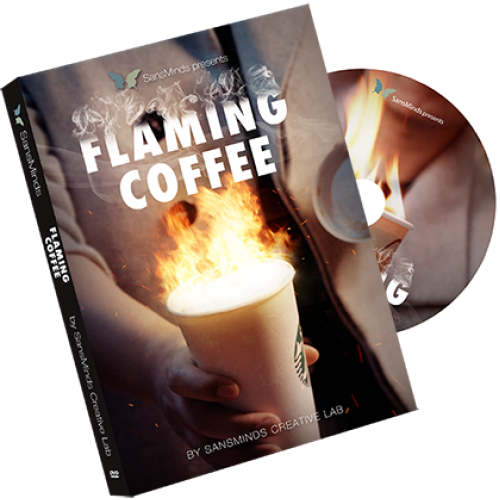 Flaming Coffee by SansMinds Creative Lab