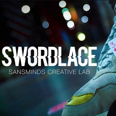 Swordlace (White) - SansMinds Creative Lab