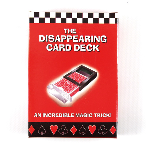 Up-Sell Disappearing Card Deck