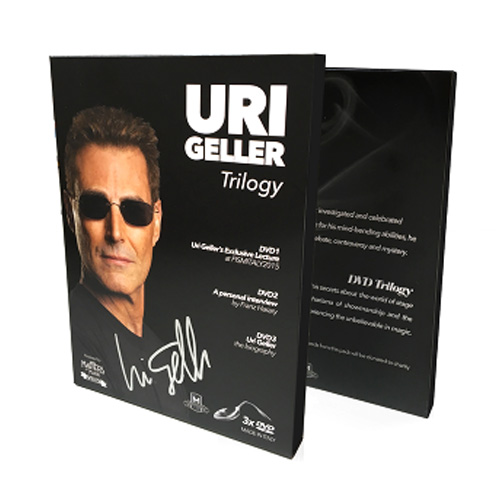 Uri Geller (Signed Box and Spoon)