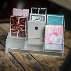Acrylic Playing Card Display (Small 18 Decks) by TCC