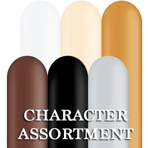 Qualatex 260Q - Character Assortment - Bag of 100