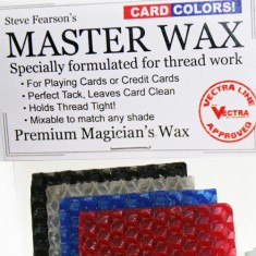 Fearson's Master Wax - Premium Magician's Wax (Card-Coloured)