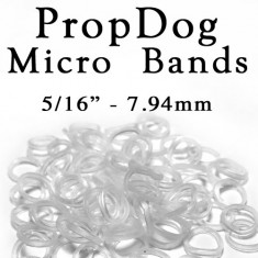 Jumbo Bag of 100 Micro Bands - 8mm by PropDog