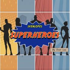 Svenlopes Superheros (4 x 6 Black) by Sven Lee