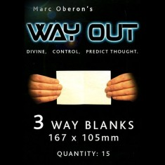 Way Out XII by Marc Oberon - 3 Way Large Refil