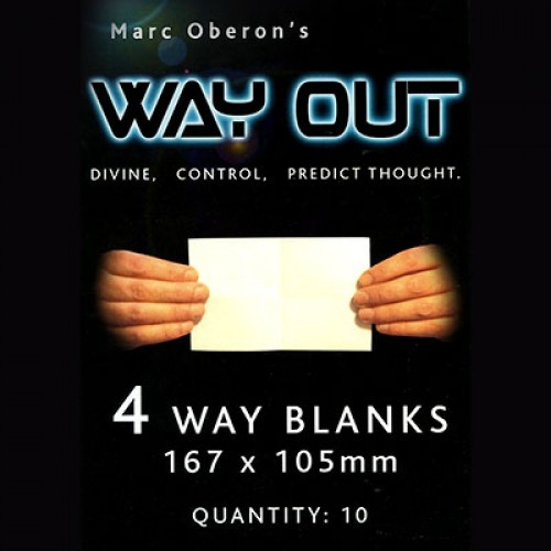 Way Out XII Marc Oberon - 4 Way Refil