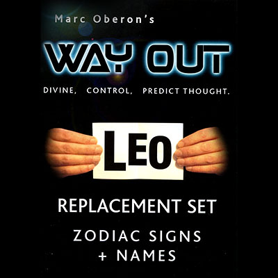 Way Out XII by Marc Oberon - Zodiac Refill