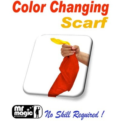 Colour Changing Silk Scarf by Mr. Magic