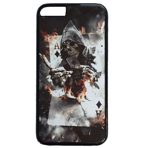 Cool Grim Reaper Ace of Diamonds Case for iPhone 6, 6S and 7