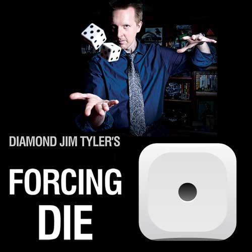 Single Number Forcing Die/Dice by Diamond Jim Tyler - Force Number 1