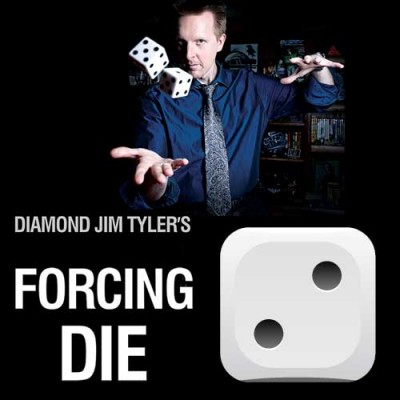 Single Number Forcing Die/Dice by Diamond Jim Tyler - Force Number 2