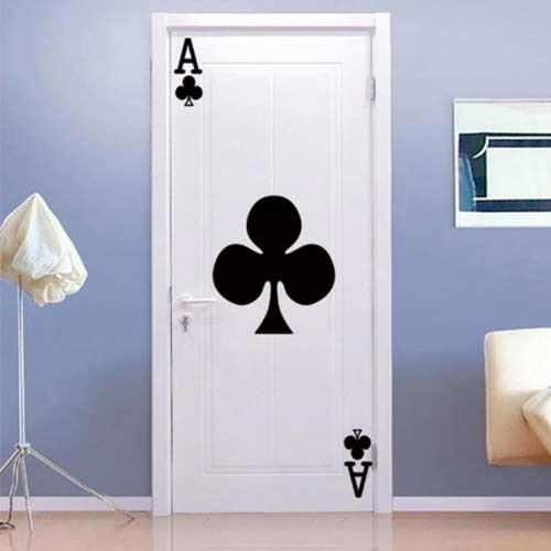 Door Stickers - Ace of Spades