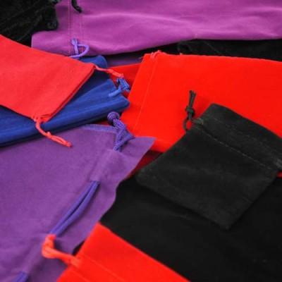 Velvet Drawstring Pouches/Bags