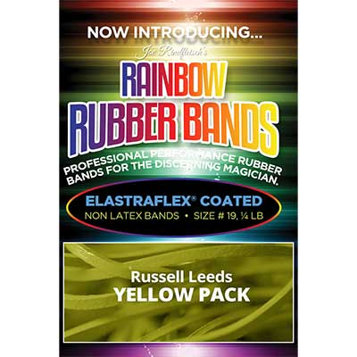 Joe Rindfleisch's Rainbow Rubber Bands - Russell Leeds Yellow