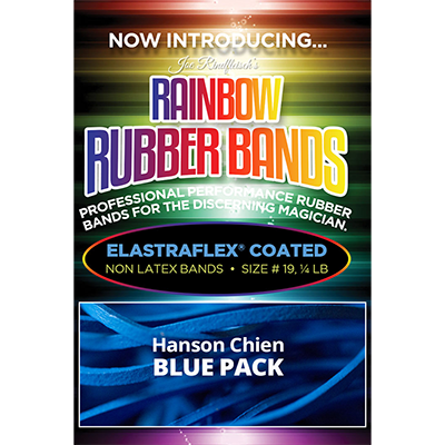 Joe Rindfleisch's Rainbow Rubber Bands - Hanson Chien Blue