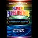 Joe Rindfleisch's Rainbow Rubber Bands - Hanson Chien Blue