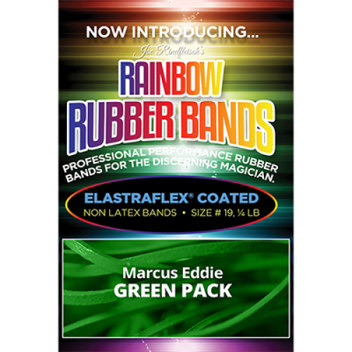Joe Rindfleisch's Rainbow Rubber Bands - Marcus Eddie Green
