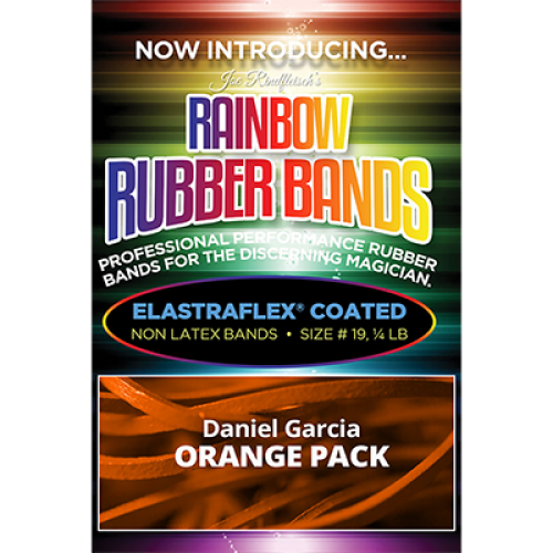 Joe Rindfleisch's Rainbow Rubber Bands - Daniel Garcia Orange