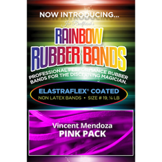 Joe Rindfleisch's Rainbow Rubber Bands - Vince Mendoza Mr. Pink
