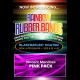 Joe Rindfleisch's Rainbow Rubber Bands - Vince Mendoza Mr. Pink