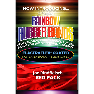 Joe Rindfleisch's Rainbow Rubber Bands - Joe Rindfleisch Red