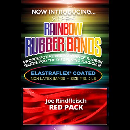 Joe Rindfleisch's Rainbow Rubber Bands - Joe Rindfleisch Red